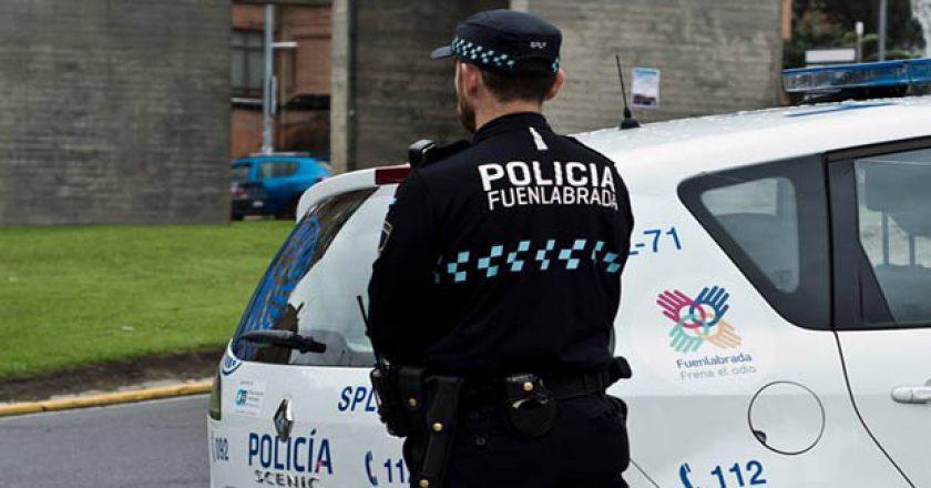 policia fuenlabrada transgénero