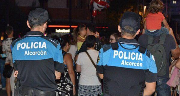 policía alcorcón