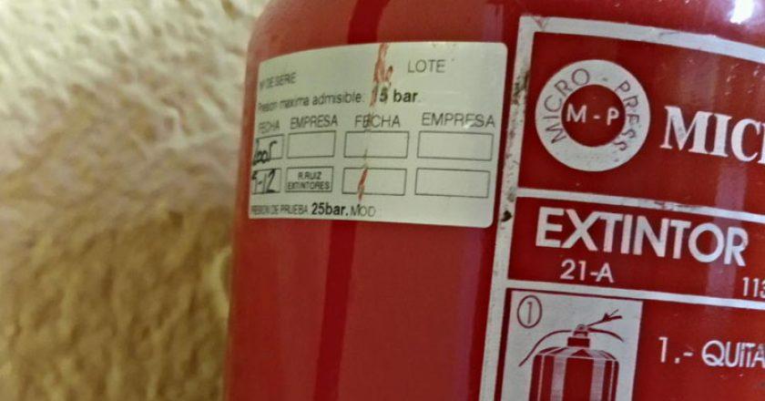 extintor leganes incendios