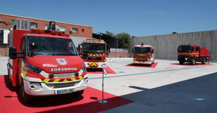 bomberos leganes recursos