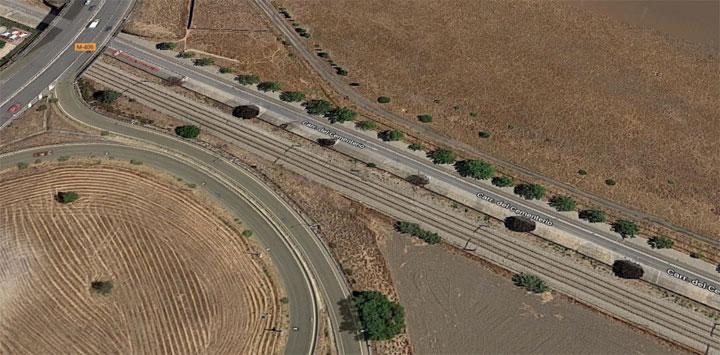 camino-cementerio Getafe