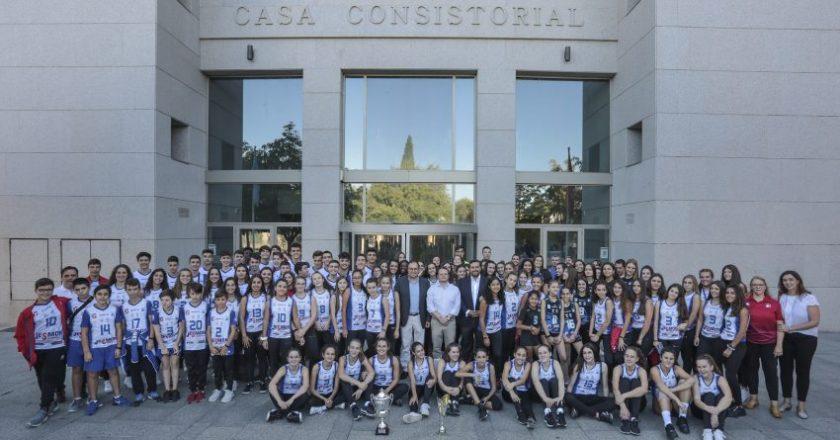 Club voleibol Leganés mejor cantera de España